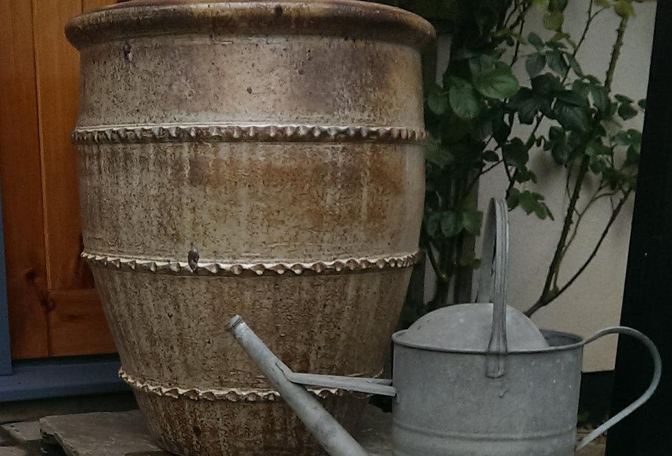 Medium Antique Creme Tree Planter