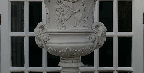 Cast Marble Eve Urn