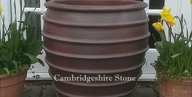 Iron Stone Garden Planter