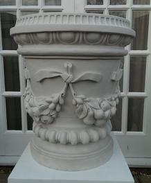 Cast Marble Fruit Swag Vase.png