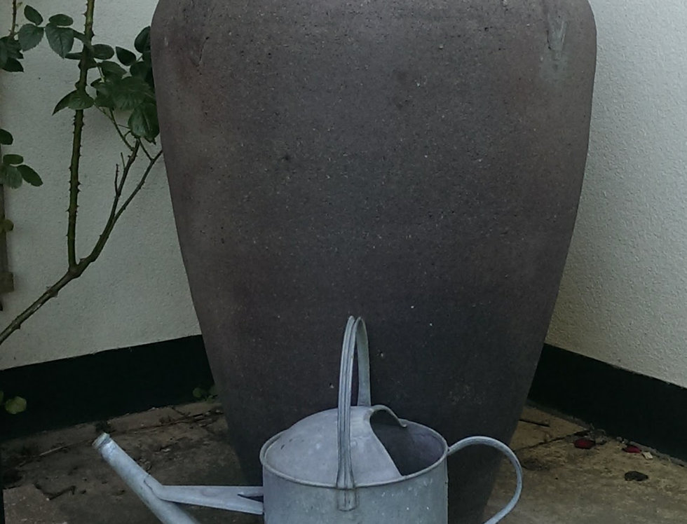 Old Stone Olive Jar