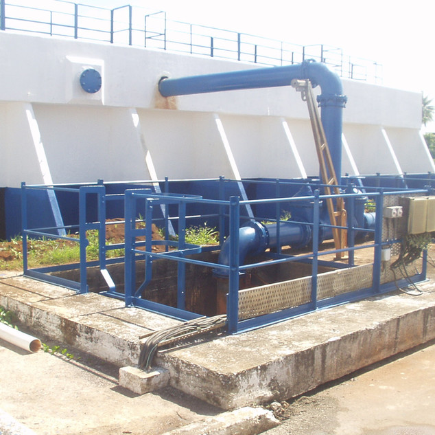 New Amsterdam Water Treatment Plant