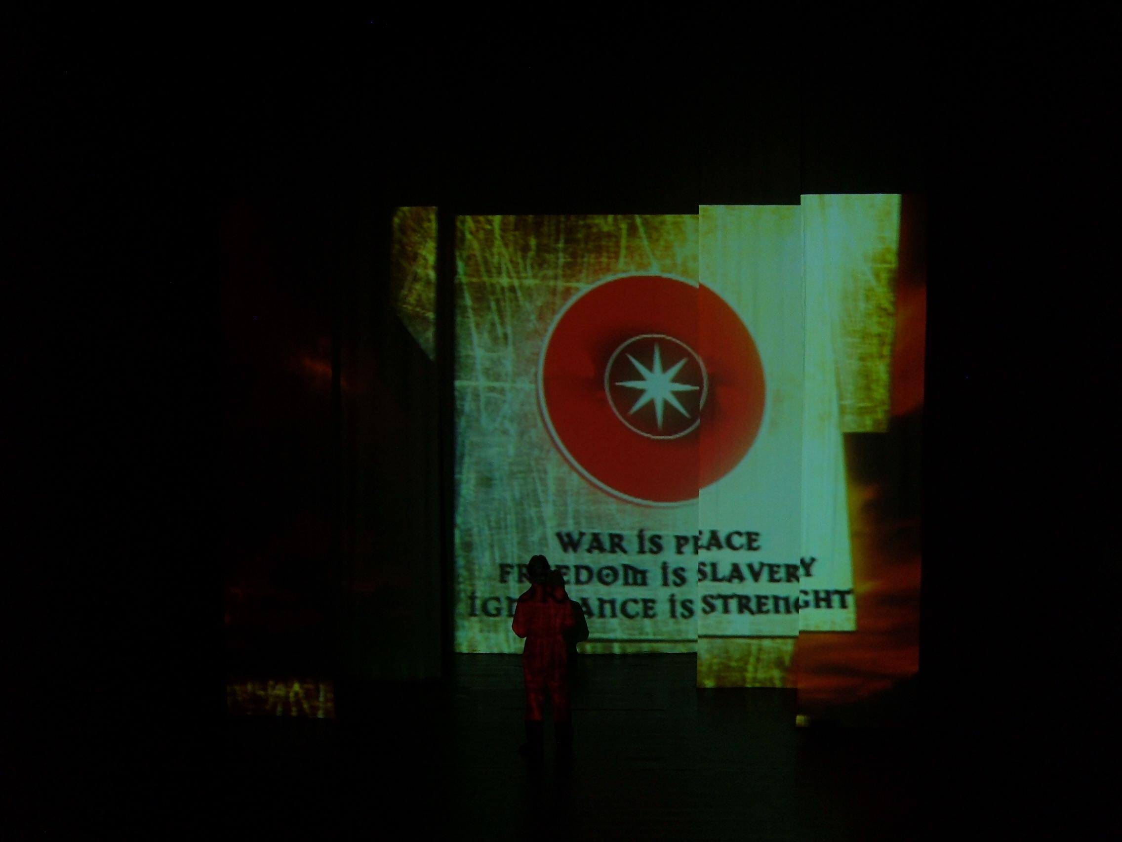2006. // George Orwell's 1984.