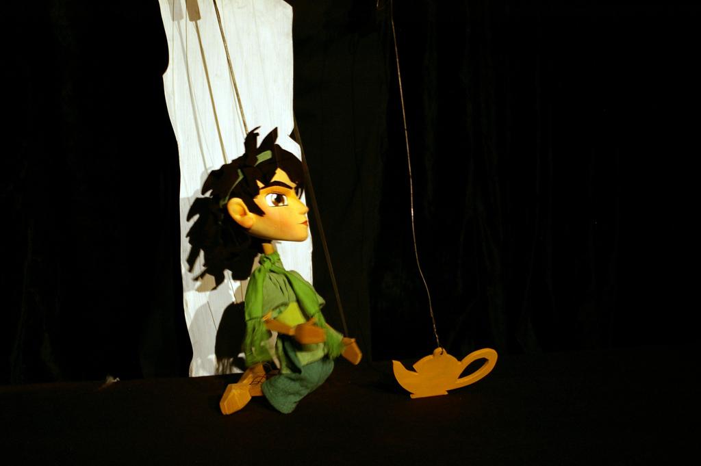 2007. // Aladdin and enchanted lamp