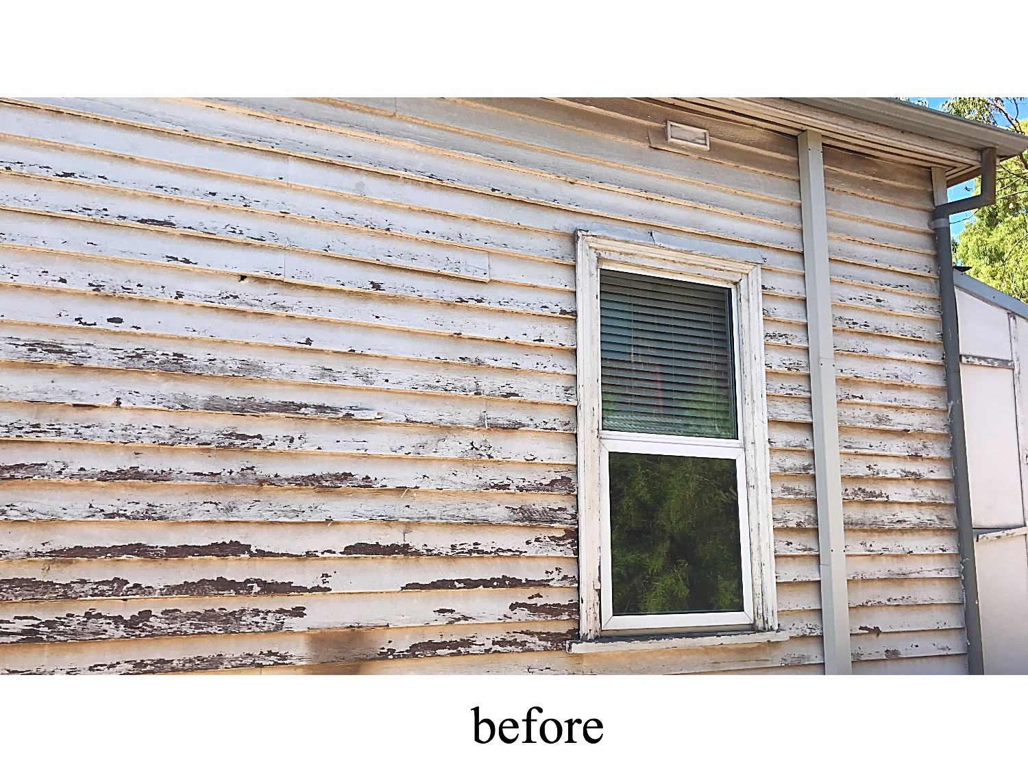weatherboard painting exterior