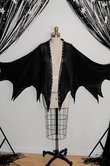 Dark Wing Studded Cloak