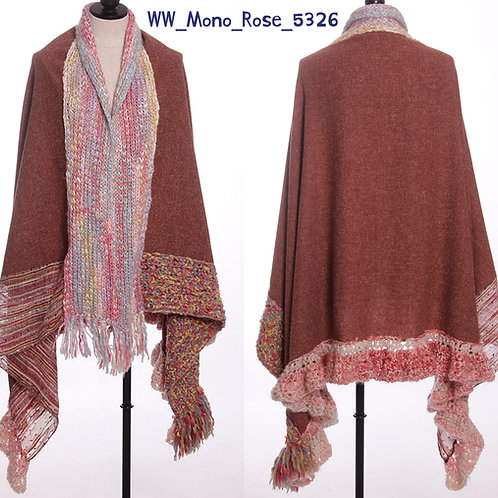 WoolieWrap 5326 Monotone Rose