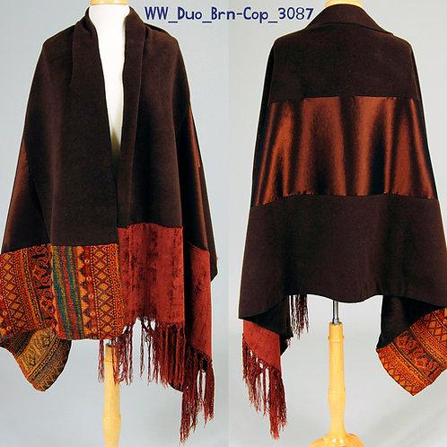 WoolieWrap 5348 Duo-Tone Brown-Copper