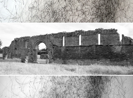 Live Art Projection at White Ladies Priory