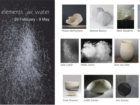 Exhibition 'elements: air water' – Gallery 57, Arundel