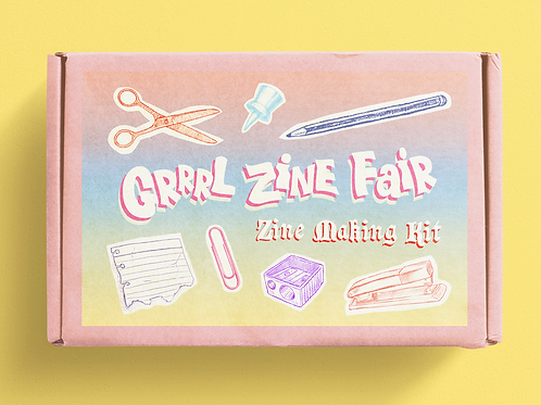 Zine Making Kit - The Essentials