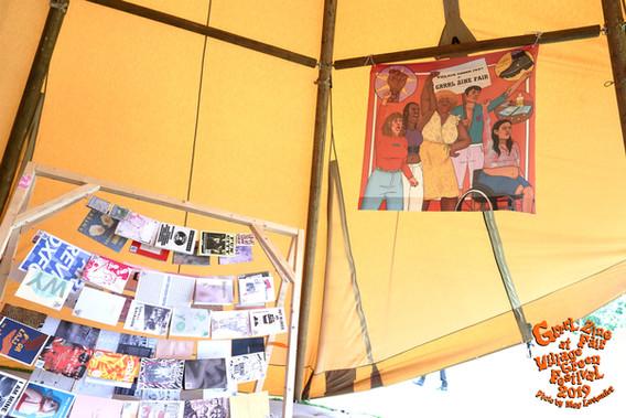 Library Talks Tent Village Green Photos