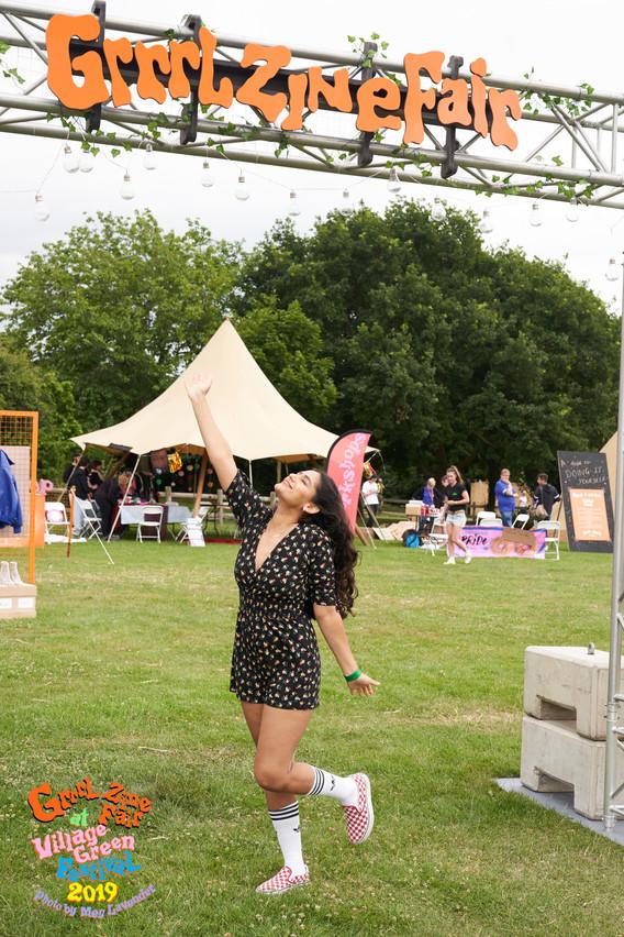Nadia Grrrl Zine Fair x Village Green by