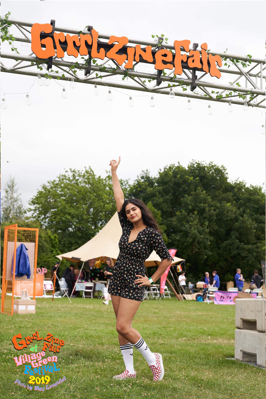Nadia 2 Grrrl Zine Fair x Village Green