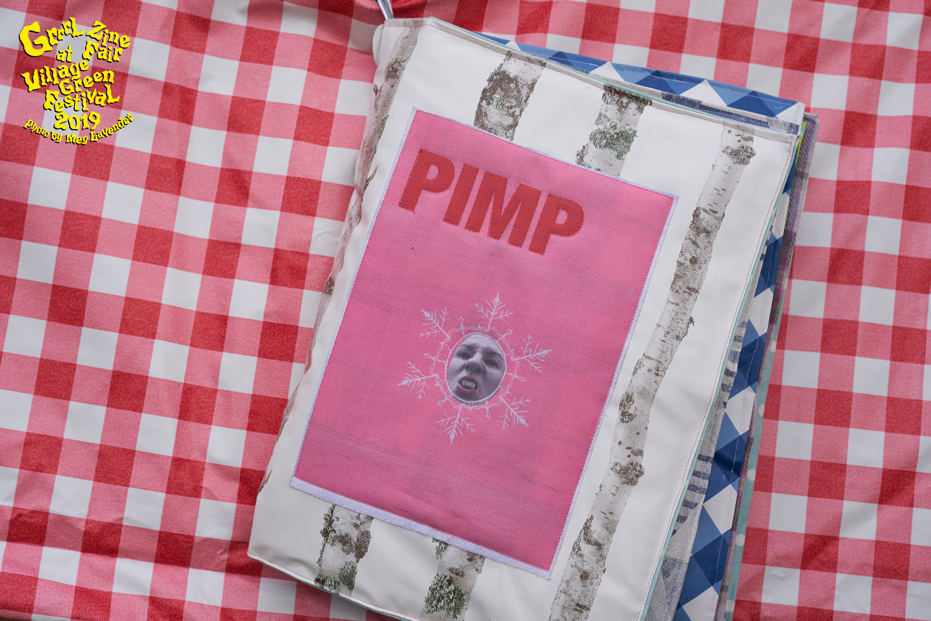 Spread Exhibition PIMP zine Village Gree