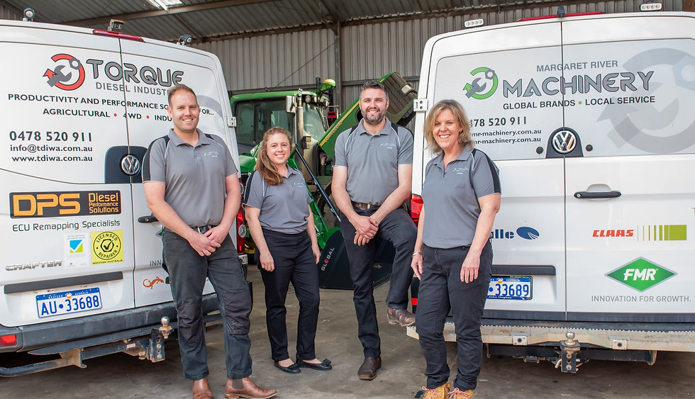 Margaret River Machinery Team