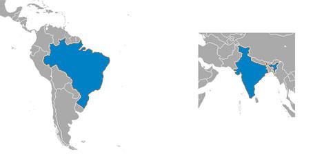 Dois novos polos regionais são lançados na rede global do International EPD® Sistem