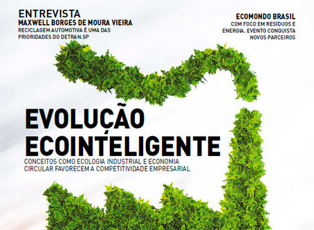 A revista Meio Ambiente Industrial e Sustentabilidade aborda lançamento do EPD Brasil