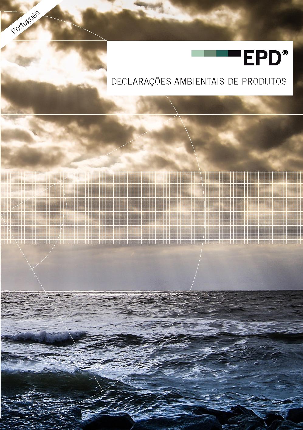 Folhetos sobre declarações ambientais em português