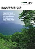 Comunicação com declarações ambientais (EPD)
