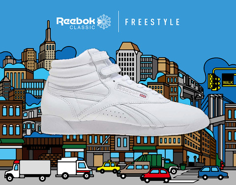 Window Design in NYC Reebok