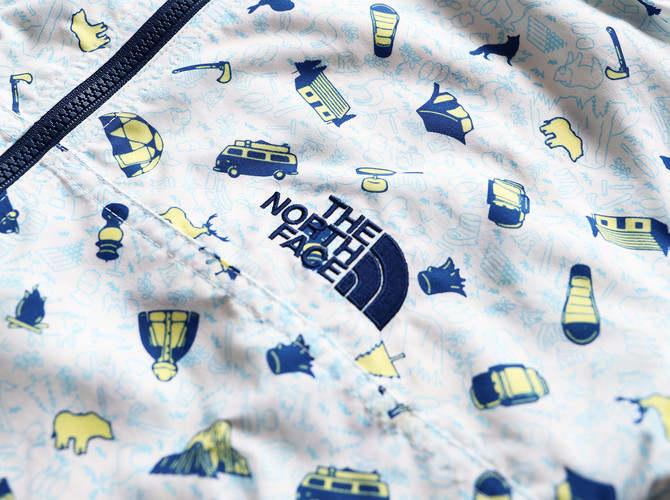 Rimo | Textile Design & Priting Design for The Northface Kids