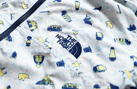 Northface Kids 18ss Textile Design