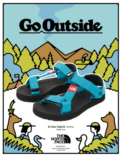 "The Northface ""Go Outside"" AD"