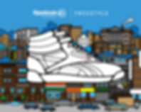 Rimo | イラストレーション for Reebok Classic in NYC