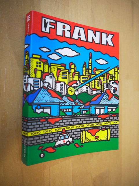 FRANK JP Book cover Design
