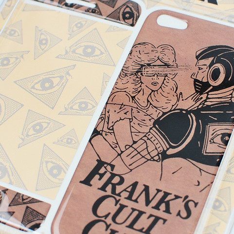 "FRANK 151 (JP)  ""CULT CLUB"" iPhone CASE"