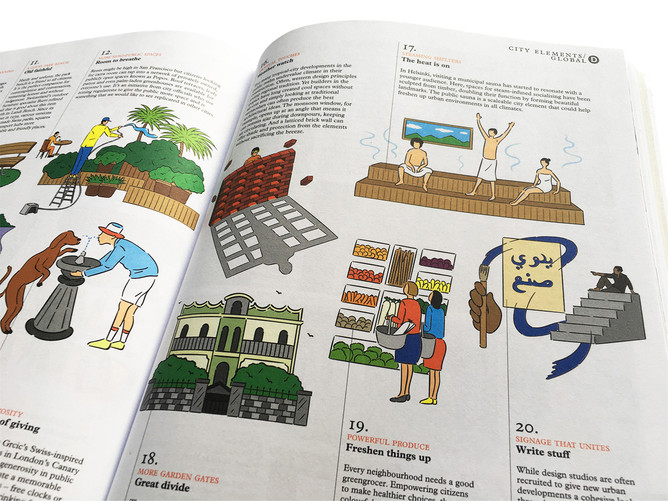Rimo | Illustrations for MONOCLE MAGAZINE