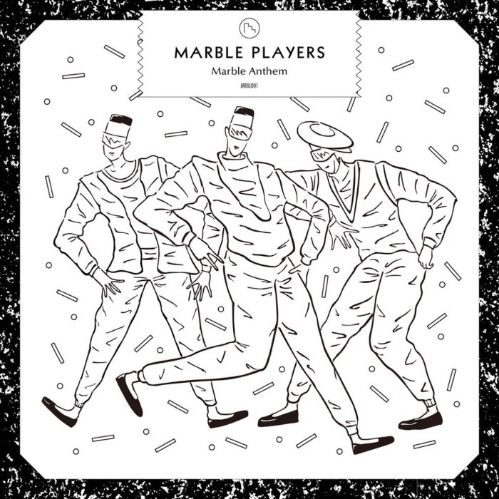 MARBLE PLAYERS / MARBLE ANTHEM Cover Design