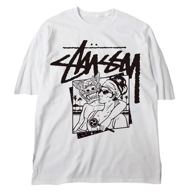 STUSSY Okinawa Chapt T-shirt Design - Front