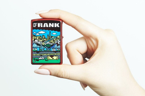 FRANK JP Book cover (ZIPPO ver)