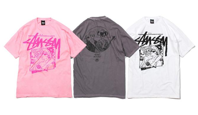 STUSSY Okinawa Chapt T-shirts