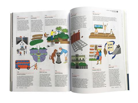 MONOCLE Magazine, Illustrations