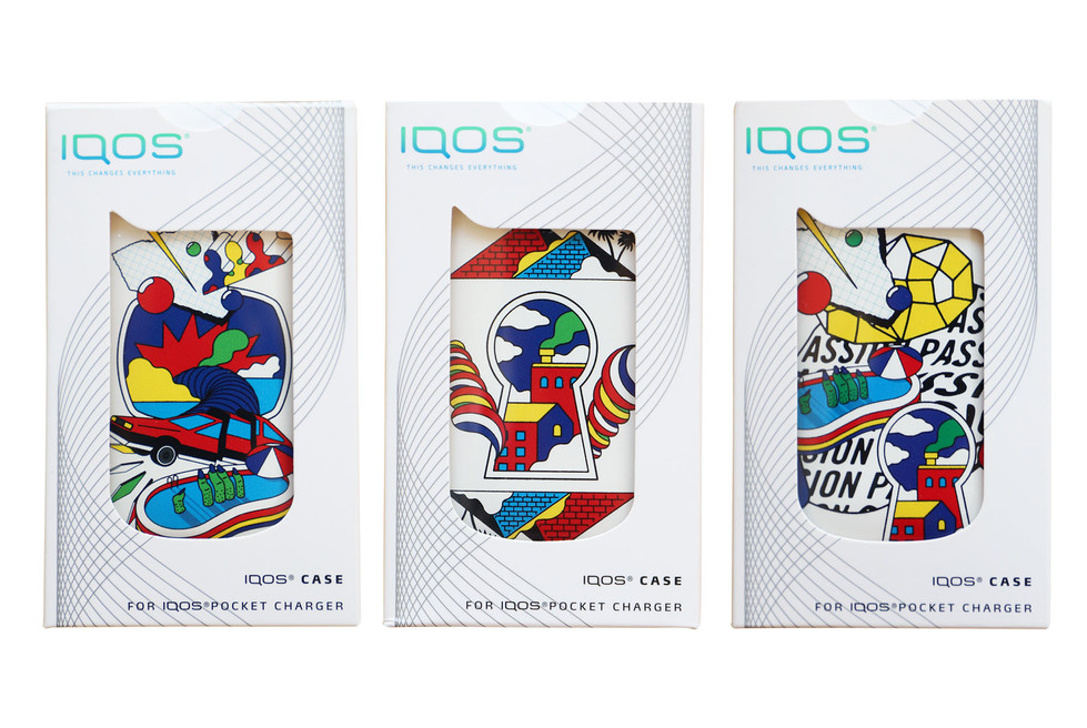 Rimo | Icon Design for IQOS's Custom Case