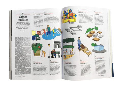MONOCLE Magazine, Illustrations