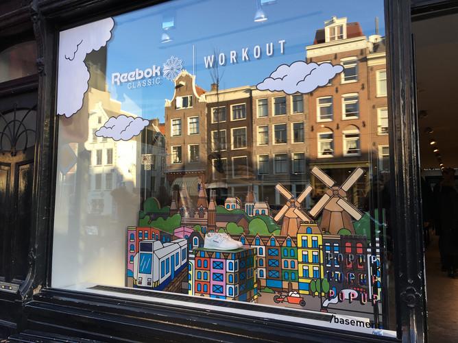 Rimo   Reebok Classic Workout 広告デザイン