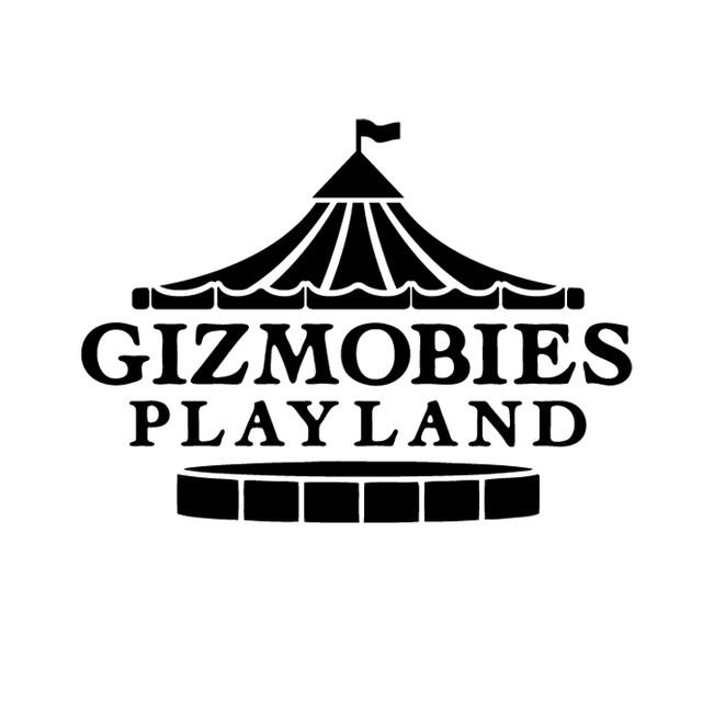 Rimo | GIZMOBIES PLAYLAND Logo Design