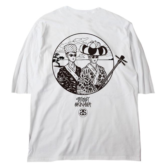 STUSSY Okinawa Chapt T-shirt Design - Back