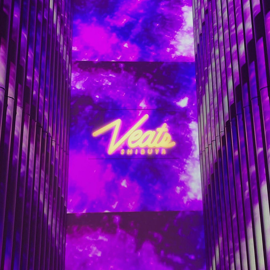 Victor presents Veats Shibuya's Logo Design