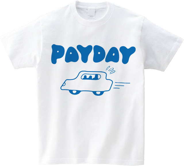 HELLO WOLKS PAYDAY T-SHIRT