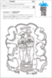 "MAMMOTH × STUSSY"" Kid's Coloring Art Work"