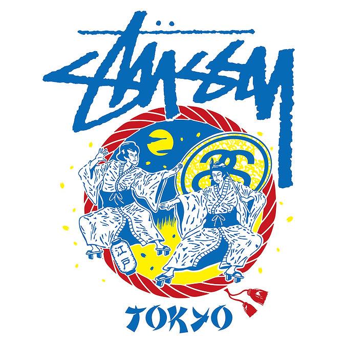 STUSSY Tokyo Chapt T-shirt Design