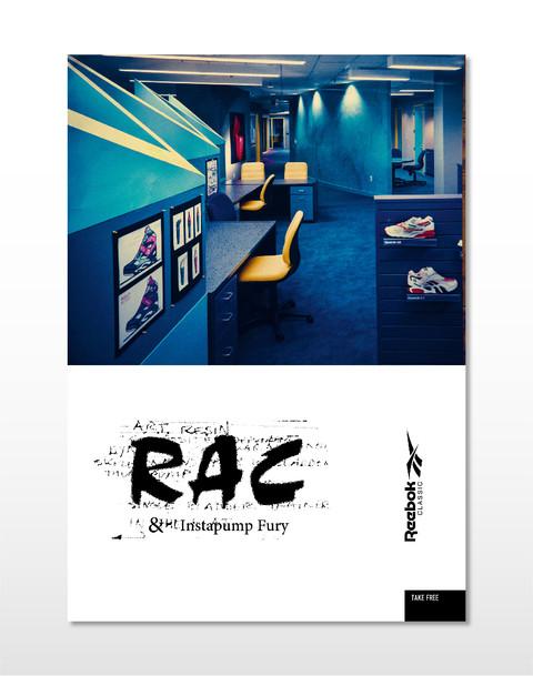 Reebok RAC Book Design