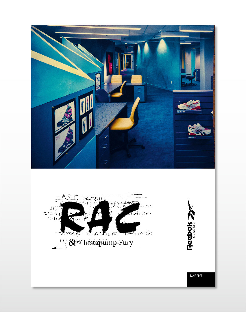 Reebok RAC Book Design
