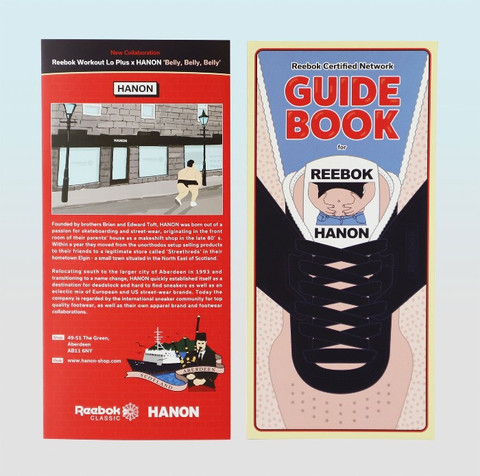 GUIDE BOOK for HANON Reebok Classic