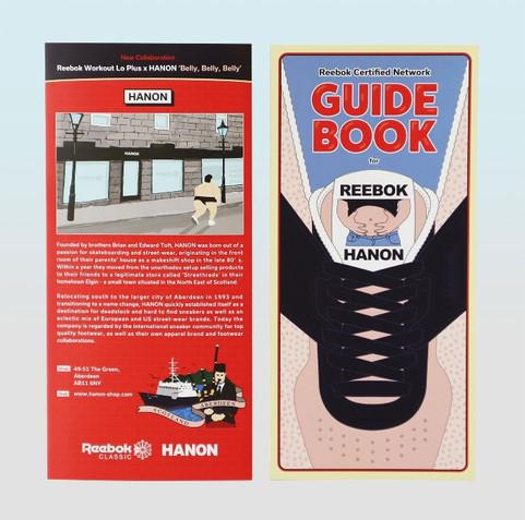 GUIDE BOOK for HANON Reebok Classic
